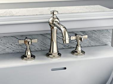 3 hole countertop washbasin tap CAMDEN | 3 hole washbasin tap
