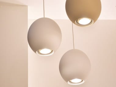 Thermoplastic polymer pendant lamp CAMOUFLAGE | Pendant lamp