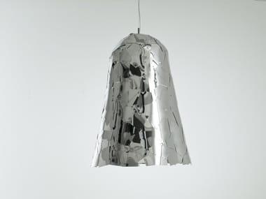 Aluminium pendant lamp CAMPANA