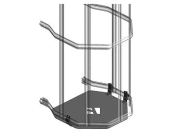 Modulo per scala in alluminio CANCELLETTO DI SICUREZZA