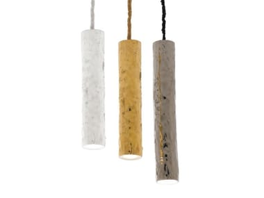 Ceramic pendant lamp CANDLES