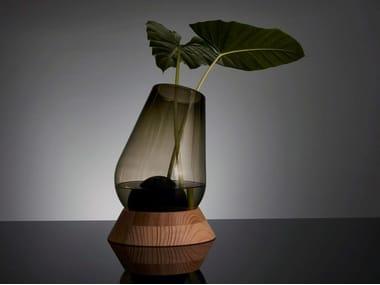 Blown glass vase CANNON VASE