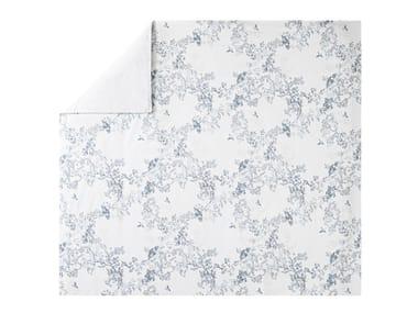 Copripiumino stampato in cotone con motivi floreali CANOPÉE | Copripiumino