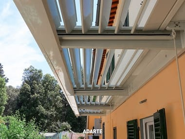 Aluminun canopies with thermal insulation panels CANOPIES