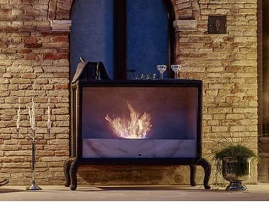 Outdoor bioethanol fireplace CANOPO | Bioethanol fireplace