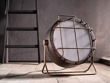 LED adjustable iron floor lamp CANTIERE | Adjustable floor lamp
