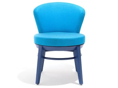 Upholstered fabric chair CANTO | Chair
