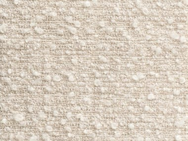 Solid-color boucle upholstery fabric CAOLINO