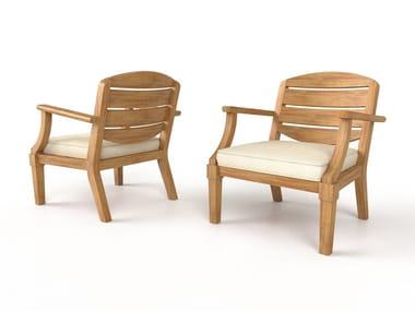 Foam armchair CAP FERRET | Armchair