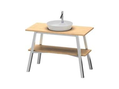 Mobile lavabo in legno massello CAPE COD | Mobile Rovere europeo