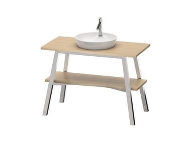 Mobile lavabo in legno massello CAPE COD | Mobile Rovere vintage