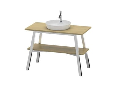 Mobile lavabo in legno massello CAPE COD | Mobile carpino bianco