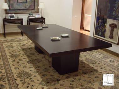 Rectangular wooden table CAPELA | Rectangular table