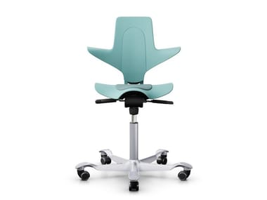 Sedia ufficio ergonomica girevole a 5 razze CAPISCO PULS 8010