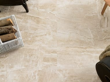 Wall/floor tiles with marble effect CAPPUCCINO BEIGE