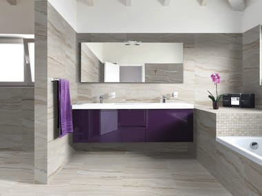 Ceramic granite wall/floor tiles with marble effect CAPRI