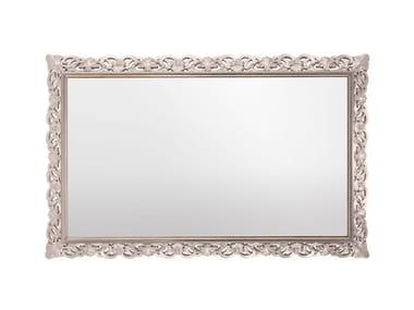 Rectangular framed wall-mounted mirror CAPRI   Rectangular mirror