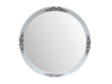 Round framed wall-mounted mirror CAPRI   Round mirror