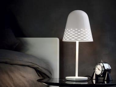 Aluminium table lamp with fixed arm CAPRI T1/ T2