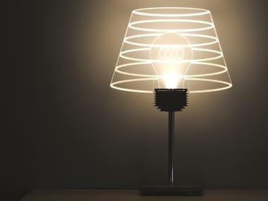 LED table lamp CARA VECCHIA LAMPADINA ABAT-JOUR