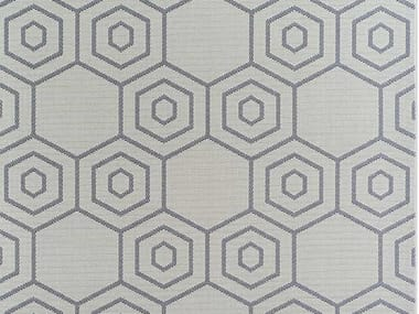 Rug with geometric shapes CARBONIUM
