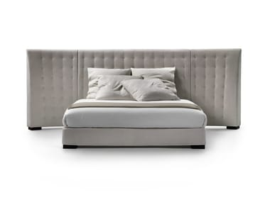 Bed with tufted headboard CARESS | Bed