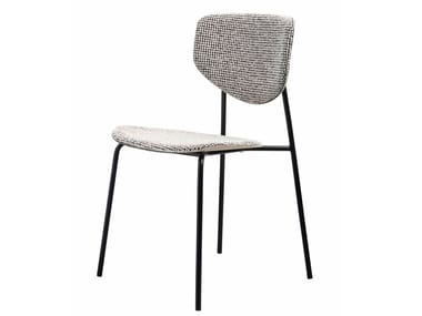 Stackable fabric chair CARISTO | Fabric chair