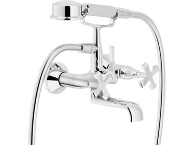 Wall-mounted bathtub tap with hand shower CARLOS PRIMERO | Bathtub tap