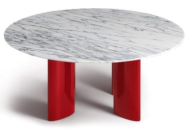 Tavolino rotondo in marmo CARLOTTA | Tavolino in marmo