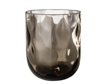 Satz von Gläsern aus mundgeblasenem Glas CARNEVALE