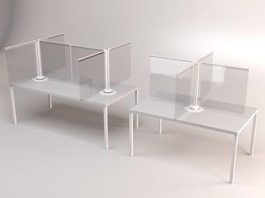 Modular table divider CAROSELLO