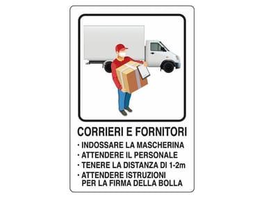Cartellonistica CARTELLO REGOLE DI SCARICO