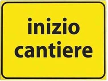 Cartello CARTELLO VTR INIZIO CANTIERE