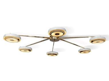 Lampada da soffitto alogena in alluminio CARTER | Lampada da soffitto