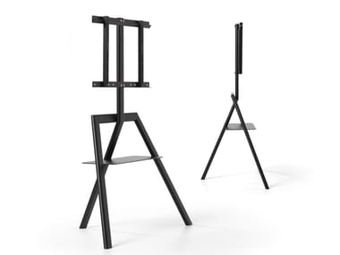 Floor mounted steel stand CARTESIO | Stand