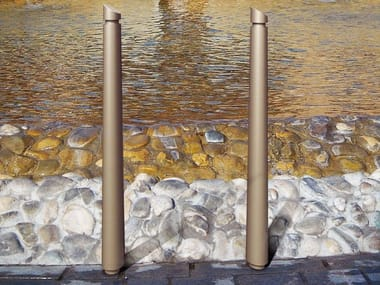 Steel bollard post with chains CARYA   Bollard