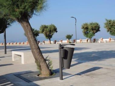 Outdoor litter bin with lid CARYA   Litter bin
