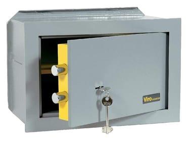 Cassaforte meccanica con chiave CASASICURA | Cassaforte da incasso