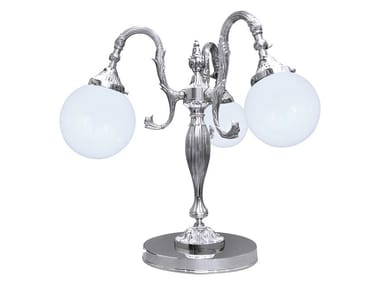 Brass table lamp CATANIA II | Table lamp