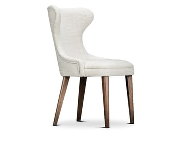 Upholstered fabric chair CATARINA