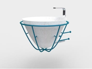 Wall-mounted washbasin CATINO | Wall-mounted washbasin