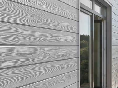Pannello per facciata ventilata in fibrocemento ecologico CEDRAL Click