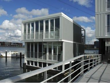 Fiber cement Panel for facade / Ventilated facade CEDRAL Lap
