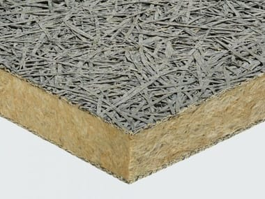 Insulation wood wool and rock wool CELENIT L3