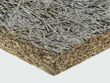 Pannello termoisolante / pannello fonoisolante in lana di legno mineralizzata CELENIT N