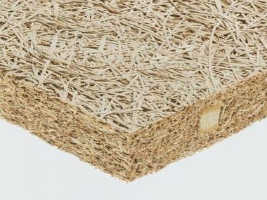 Pannello termoisolante / pannello fonoisolante in lana di legno mineralizzata CELENIT RAB