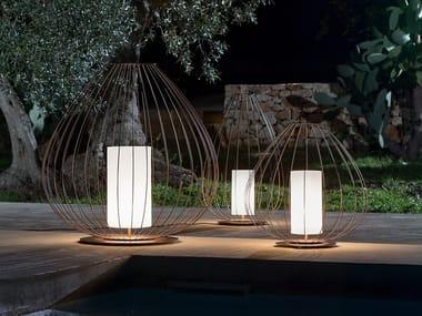 Lampada da terra per esterno in metallo CELL | Lampada da terra per esterno