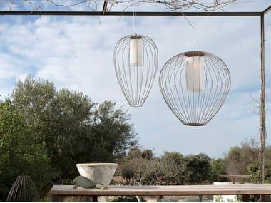 Metal outdoor pendant lamp CELL | Outdoor pendant lamp
