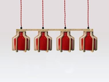 Pendant lamp CELL QUADRUPLET | Pendant lamp