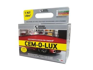 Smalto colorato monocomponente carrabile CEM-O-LUX